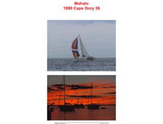 sailmahalo.com screenshot