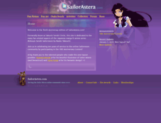 sailorastera.com screenshot