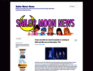 sailormoonnews.com screenshot