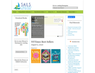 sailsinc.org screenshot