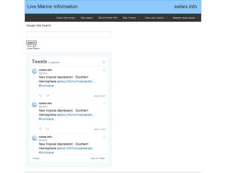 sailwx.info screenshot