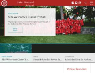 saint-bernard.com screenshot