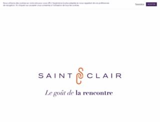 saint-clair-le-traiteur.com screenshot
