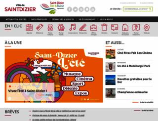 saint-dizier.fr screenshot