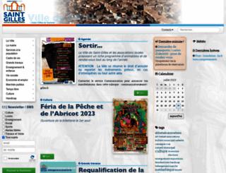 saint-gilles.fr screenshot