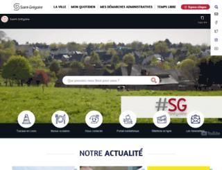 saint-gregoire.fr screenshot