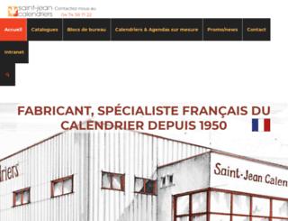 saint-jean-calendriers.fr screenshot