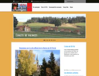 saint-pal-de-chalencon.fr screenshot