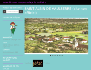 saintalbindevaulserre.com screenshot