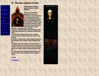 saintaquinas.com screenshot