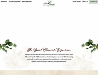 saintclementscastle.com screenshot