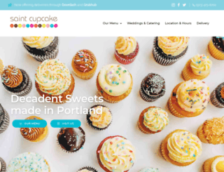 saintcupcake.com screenshot