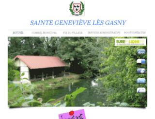 sainte-genevieve-les-gasny.fr screenshot