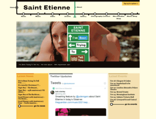saintetienne.com screenshot