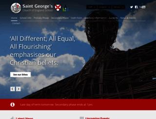 saintgeorgescofe.kent.sch.uk screenshot