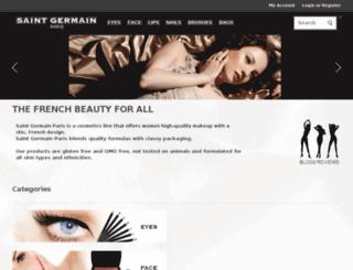 saintgermainmakeup.com screenshot