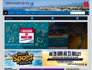 saintlaurentduvar.fr screenshot