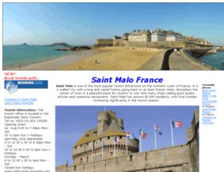 saintmalofrance.com screenshot