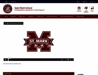 saintmarkschool.com screenshot