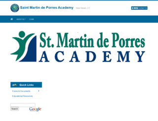 saintmartinacademy.eduk12.net screenshot
