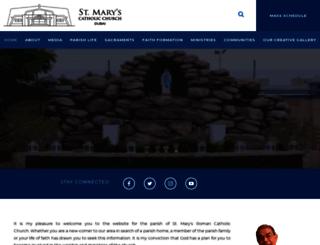 saintmarysdubai.org screenshot