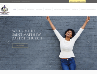 saintmatthewonline.org screenshot