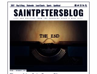 saintpetersblog.com screenshot