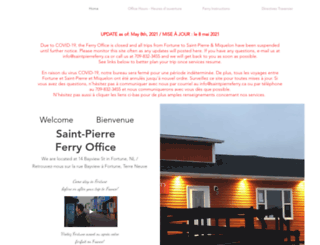 saintpierreferry.ca screenshot