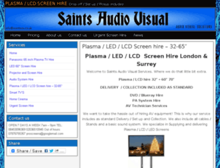 saintsav.co.uk screenshot