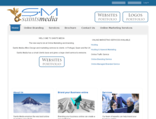 saintsmedia.co.uk screenshot