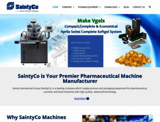 saintyco.com screenshot