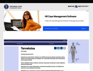 sairaana.com screenshot