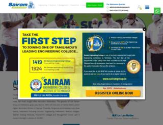 sairamgroup.in screenshot