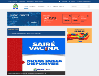 saire.pe.gov.br screenshot