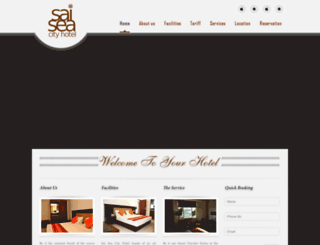 saiseacityhotel.com screenshot
