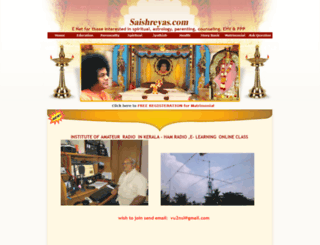 saishreyas.com screenshot