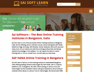 saisoftlearn.com screenshot