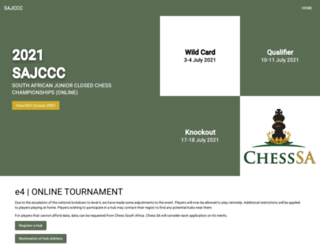 sajccc.co.za screenshot