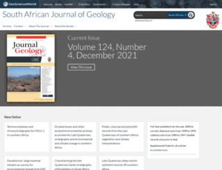 sajg.geoscienceworld.org screenshot