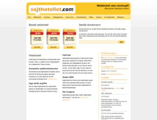 sajthotellet.com screenshot