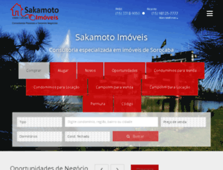 sakamotoimoveis.com.br screenshot