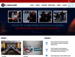 sakarya.gov.tr screenshot