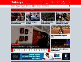 sakaryagazetesi.com.tr screenshot