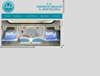 sakaryamuftulugu.gov.tr screenshot