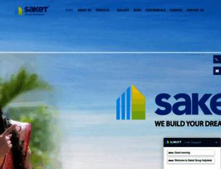 saketgroup.com screenshot