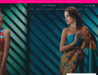 sakhifashions.com screenshot