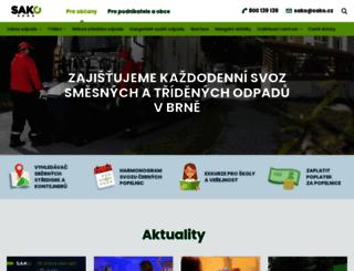 sako.cz screenshot