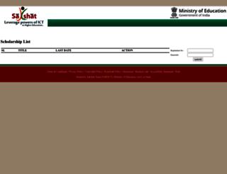 sakshat.ac.in screenshot