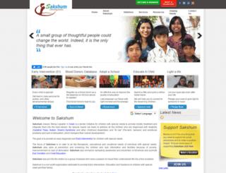 sakshum.org screenshot