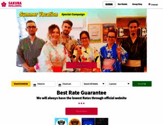 sakura-hotel.co.jp screenshot